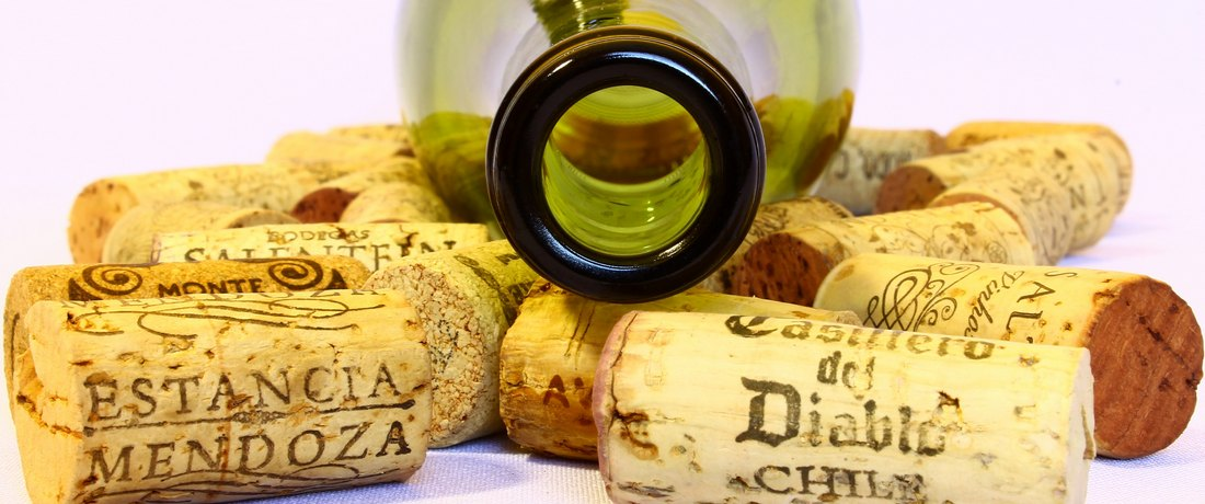 cork and bottle