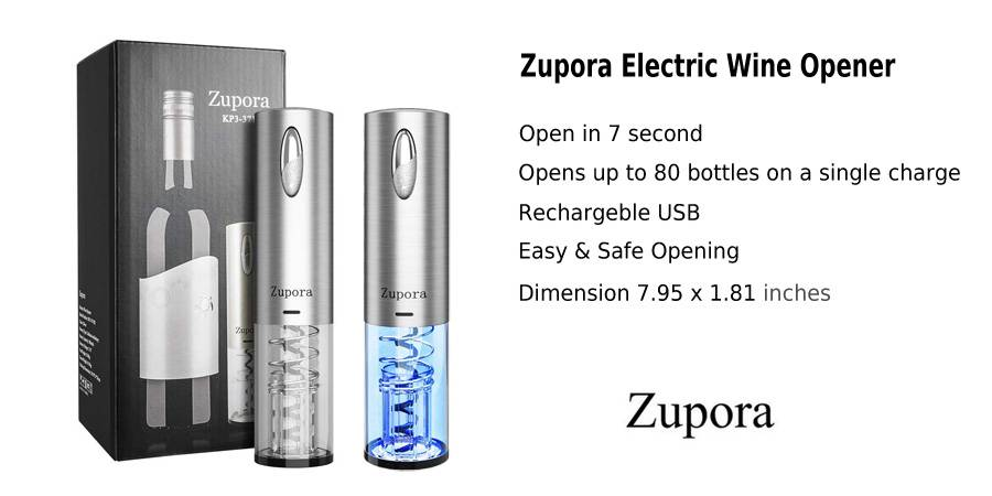 Zupora Electric Wine Opener