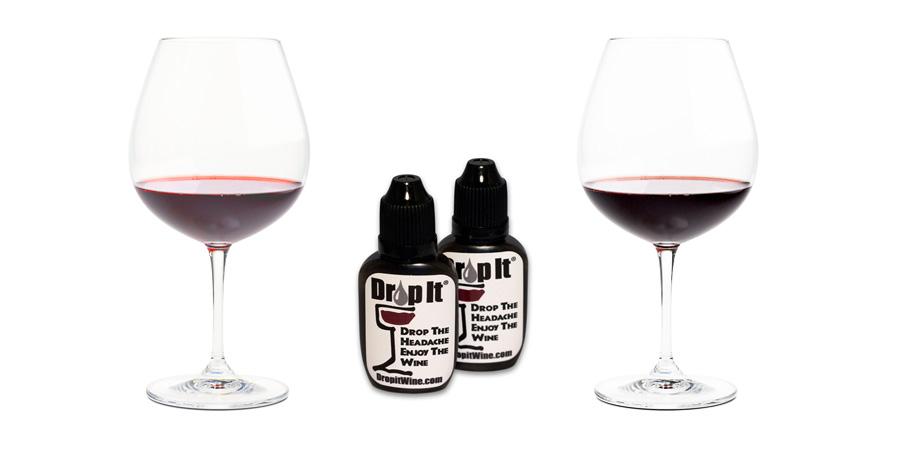 Drop It Wine Drops Natural Sulfite and Tannin Remover